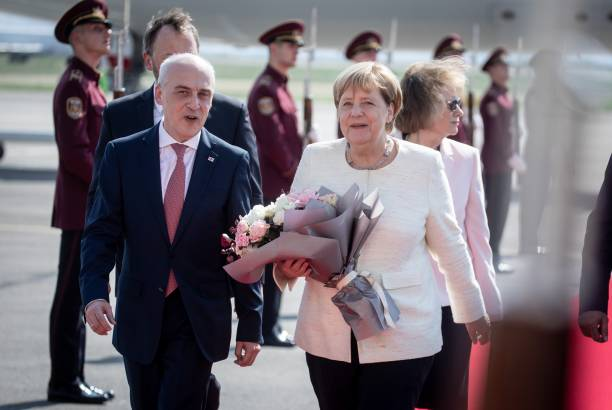 German Chancellor starts official visit to Georgia