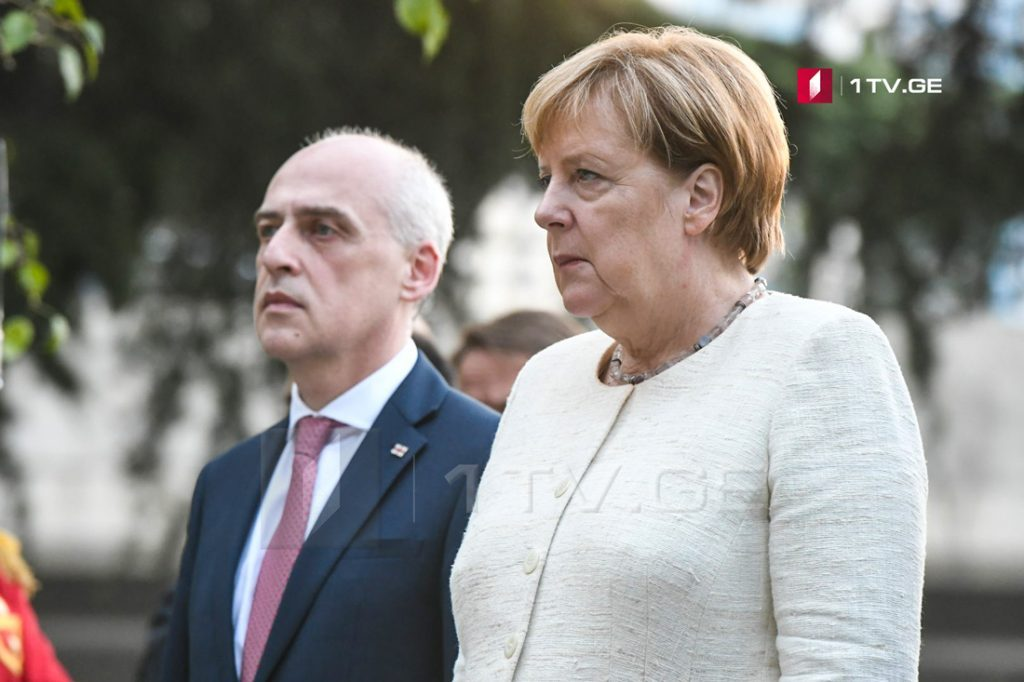 Davit Zalkaliani: Angela Merkel's visit at occupation line proves that Germany supporting Georgia's territorial integrity