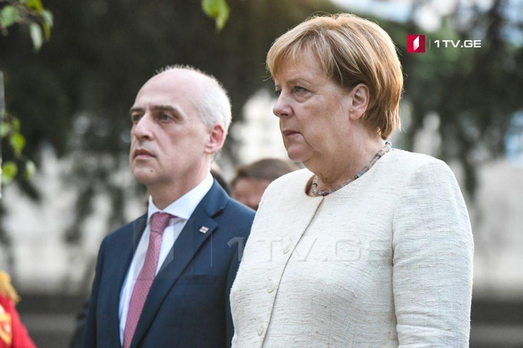 Davit Zalkaliani: Angela Merkel's visit at occupation line proves that Germany supporting Georgia's territorial integrity