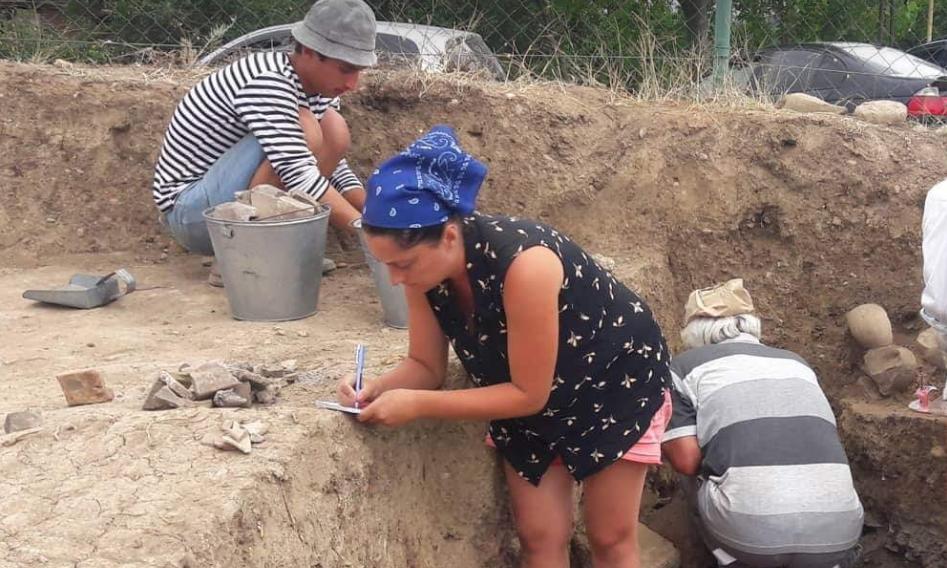 არქეოლოგებმა სოფელ ძალისში სამი სამარხი და დიდი არქიტექტურული კომპლექსი აღმოაჩინეს
