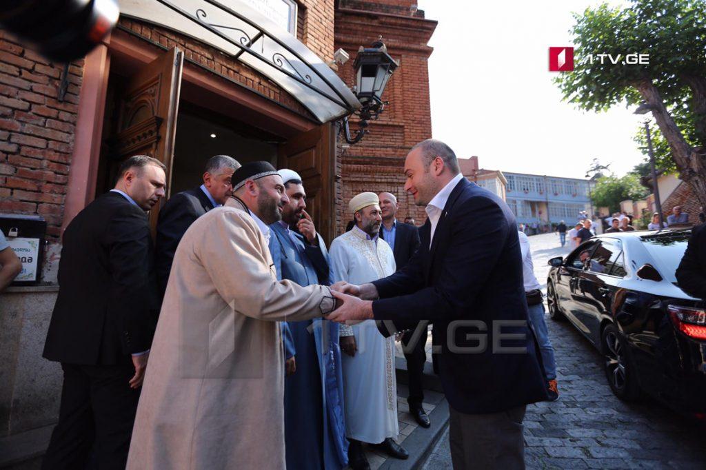 პრემიერ-მინისტრმა მუსლიმებს ყურბან-ბაირამის დღესასწაული მიულოცა [ფოტო]