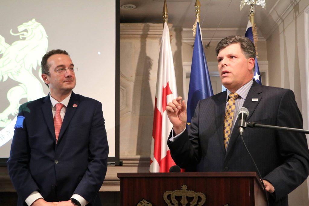 Посольство Грузии в США провело прием в память о жертвах российской агрессии 2008 года