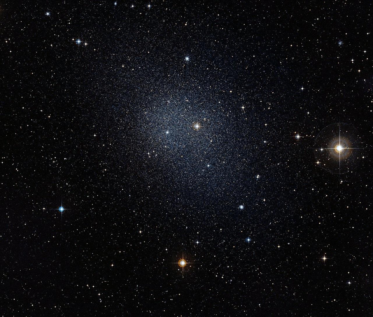 ირმის ნახტომს გარს უვლის უცნაური, ციცქნა გალაქტიკა, რომელიც არავინ იცის, საიდან მოვიდა