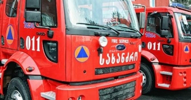 У Грузии будет пожарная техника собственного производства