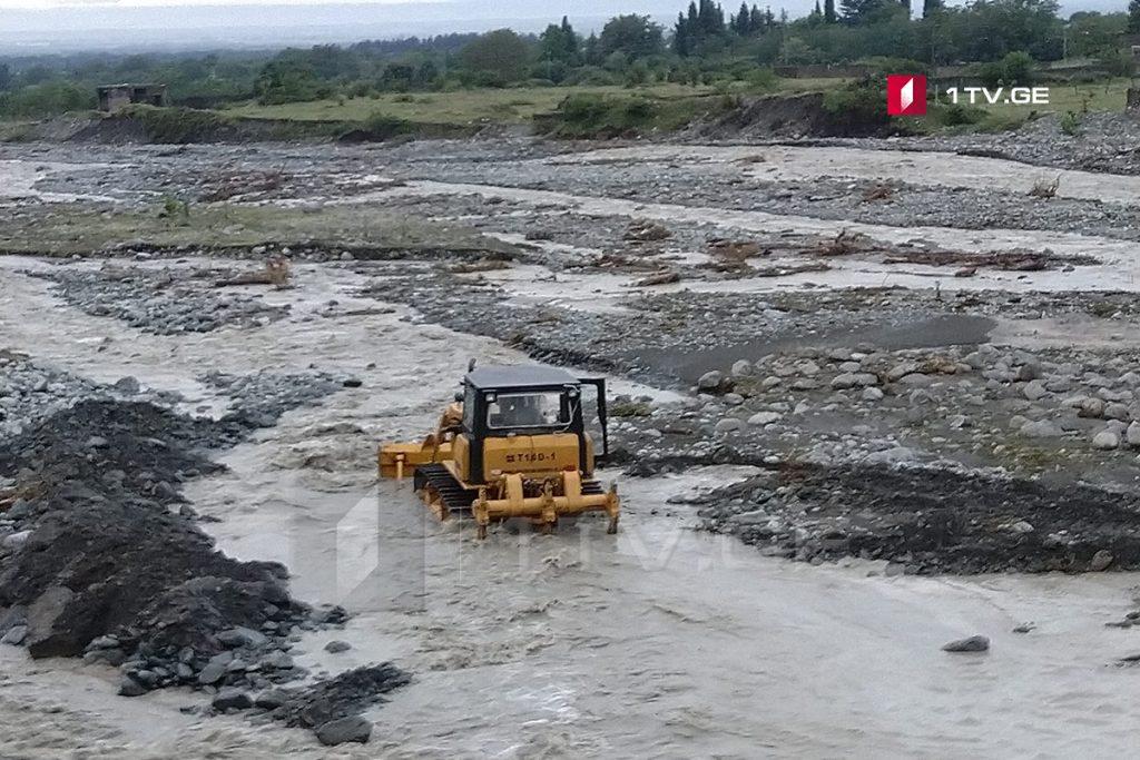 Վարարած գետերի պատճառով Լագոդեխիի քաղաքապետարանը անցել է արտակարգ աշխատանքային ռեժիմի