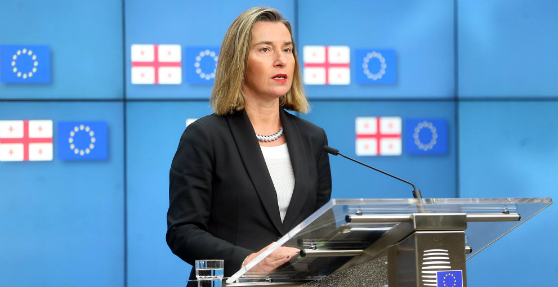 Federica Mogherini – European Union supports peaceful resolution of Georgia's territorial conflicts