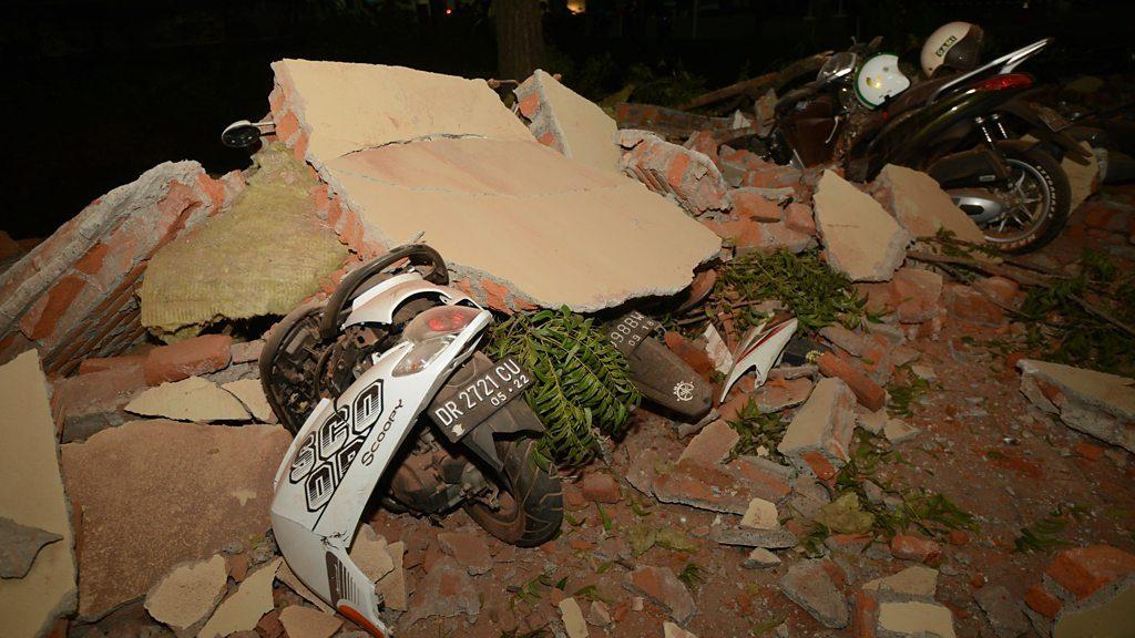 ინდონეზიაში მიწისძვრის შედეგად დაღუპულთა რიცხვი 82-მდე გაიზარდა