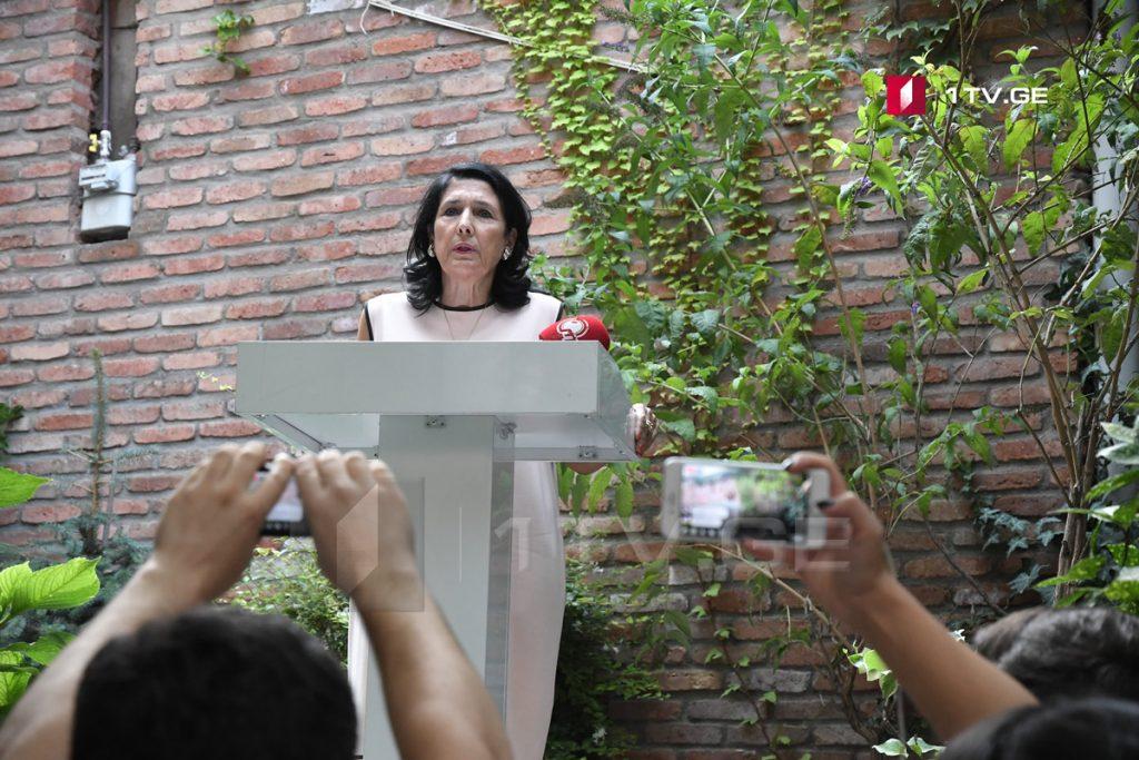 Саломе Зурабишвили – Если мы не будем заботиться о примирении с населением, проживающим в Абхазии и Самачабло, территории ничего и не значат
