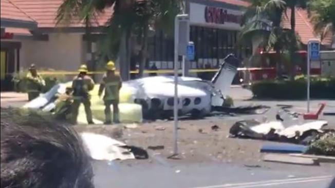 კალიფორნიაში მცირე ზომის თვითმფრინავის ჩამოვარდნისას ხუთი ადამიანი დაიღუპა