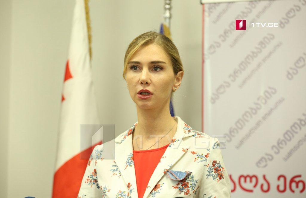 Тина Бокучава – К ответственности должны быть привлечены не только Гурциев и Табоев, но и все, кто участвовал в действиях подобного типа