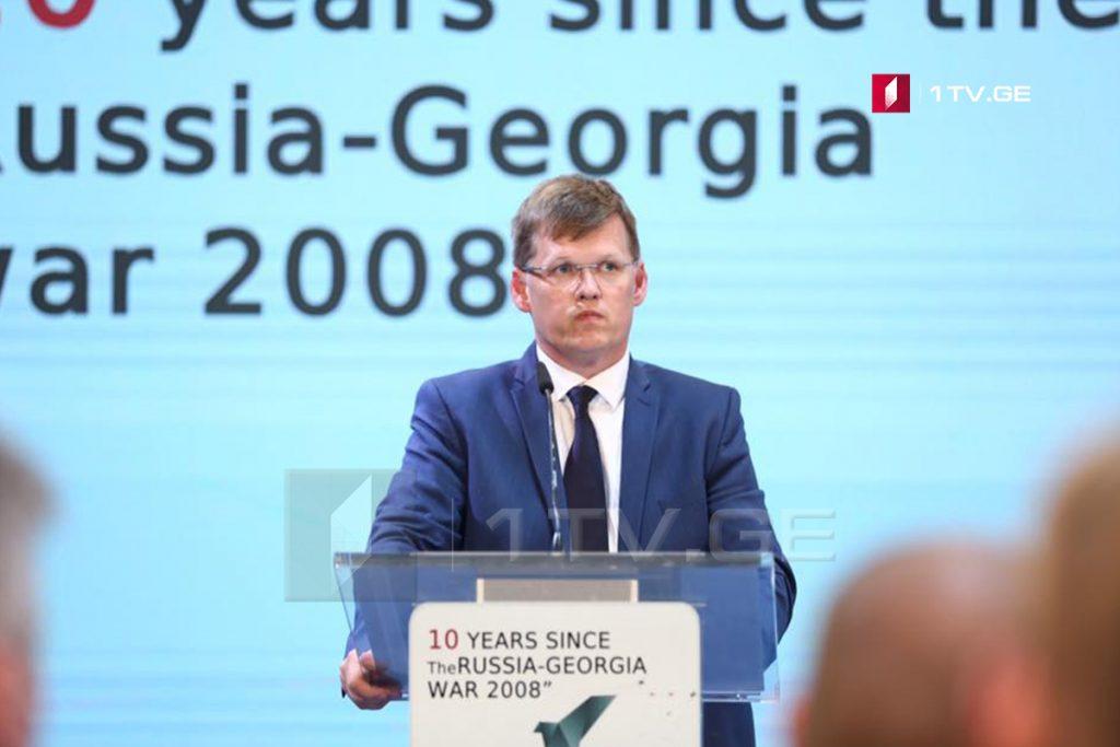 Вице-премьер Украины – Вы никогда не будете одни, мы и сегодня стоим рядом с Грузией
