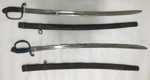 Swords discovered at Gudiashvili Square