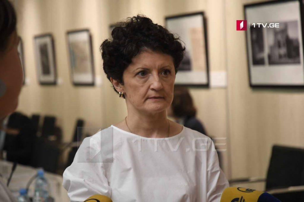Тея Цулукиани - Наша позиция одна и неизменна, Россия начала войну против Грузии