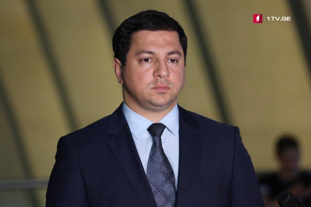 Арчил Талаквадзе – Иностранные коллеги положительно оценивают наше решение о том, что у нас не будет кандидата на президентских выборах