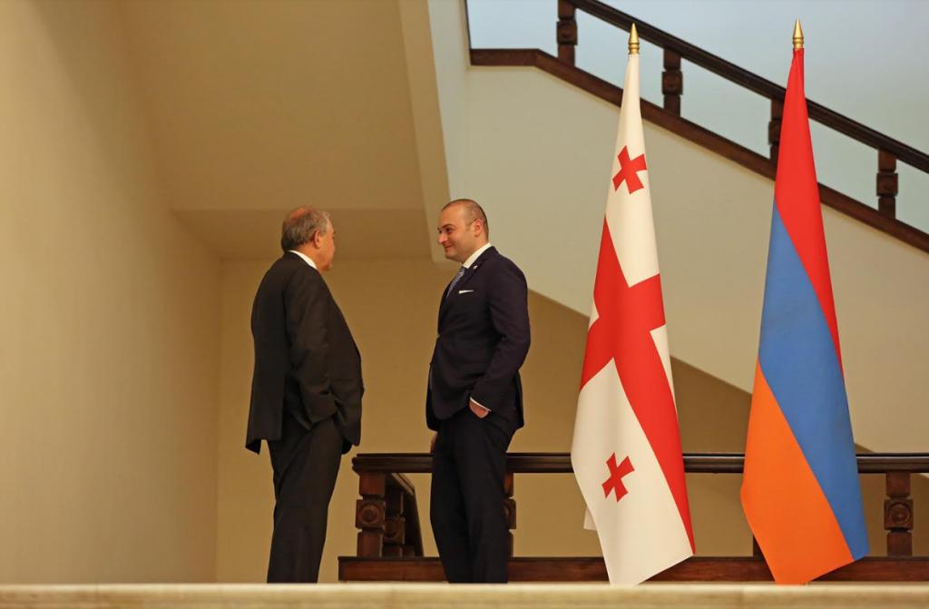 Мамука Бахтадзе встретился с Арменом Саркисяном