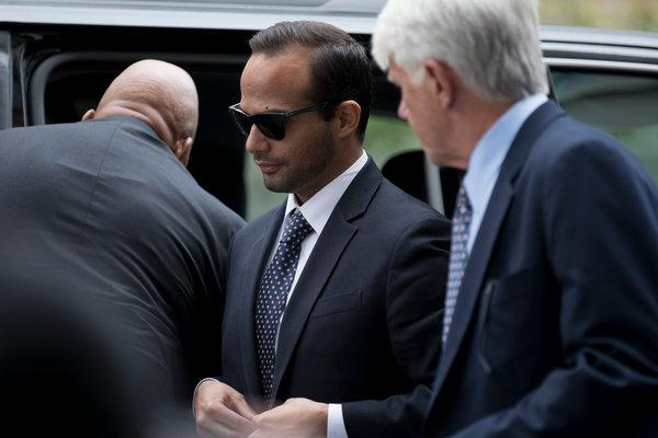 George Papadopoulos sentenced to 14 days in prison in Russia probe
