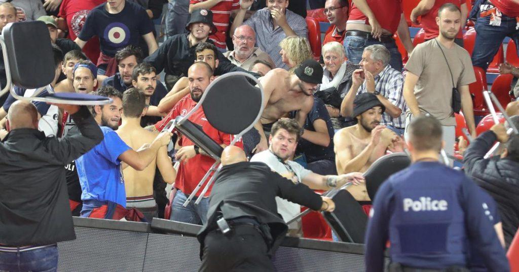 დაპირისპირება ფიბას ჩემპიონთა ლიგის მატჩზე (ვიდეო)