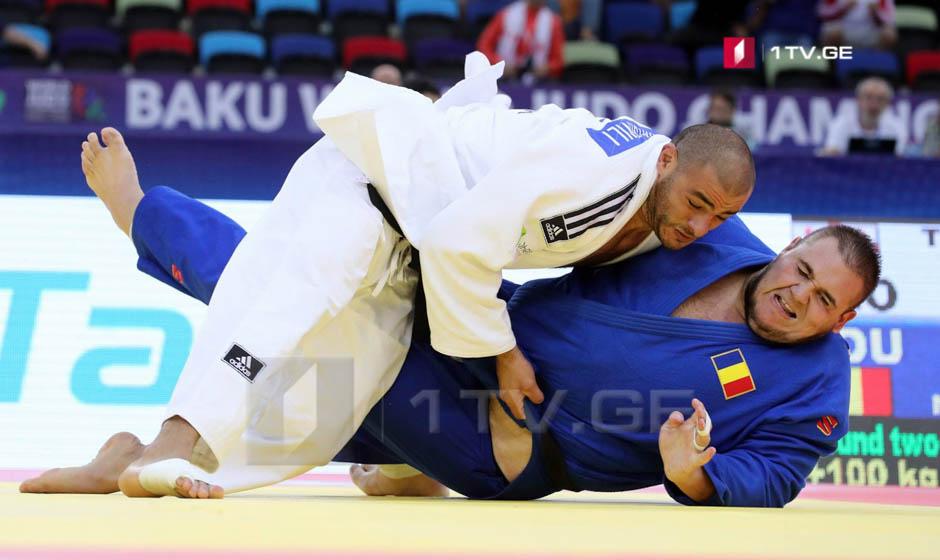 Guram Tushishvili wins second struggle at Judo World Championship Baku
