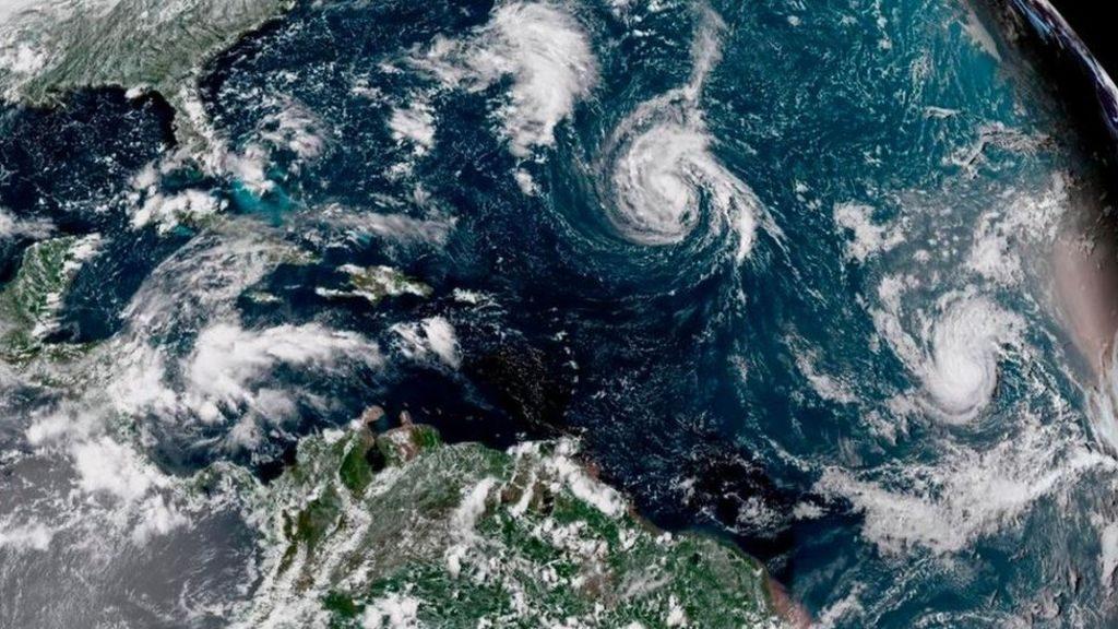 """აშშ-ის აღმოსავლეთ სანაპიროს ქარიშხალი """"ფლორენსი"""" უახლოვდება"""