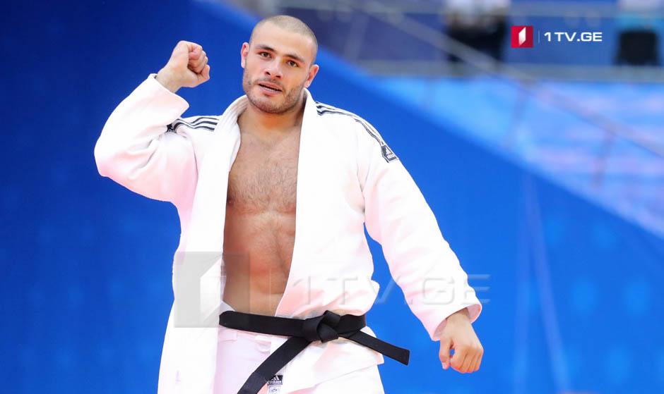 Guram Tushishvili in Final of Judo World Championship Baku