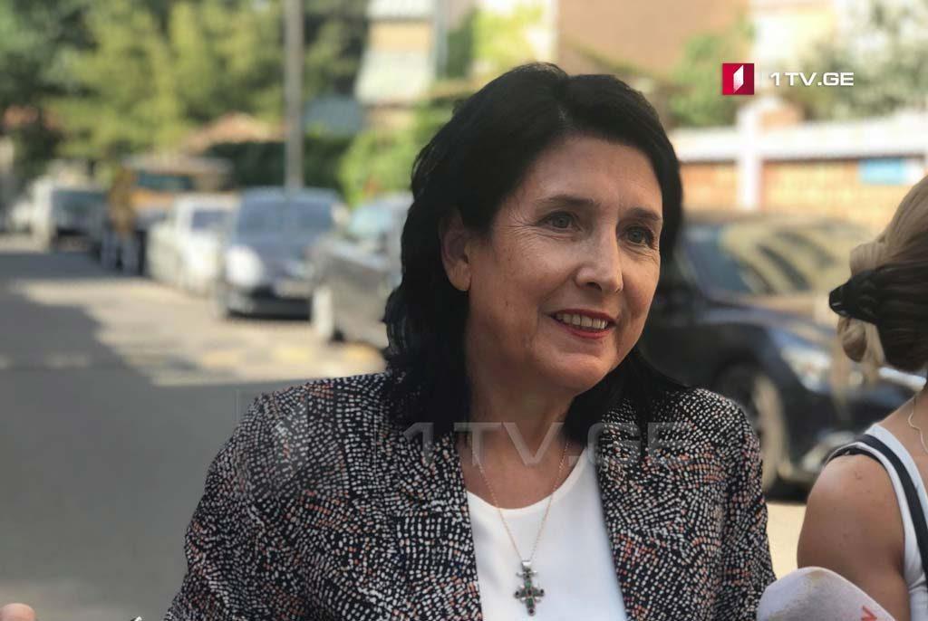 """""""Gürcü Arzusu"""" prezident seçkilərində Salome Zurabişvilini dəstəkləyəcək"""