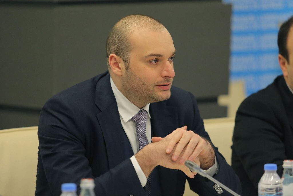 Mamuka Bakhtadze held a meeting with Armenian counterpart