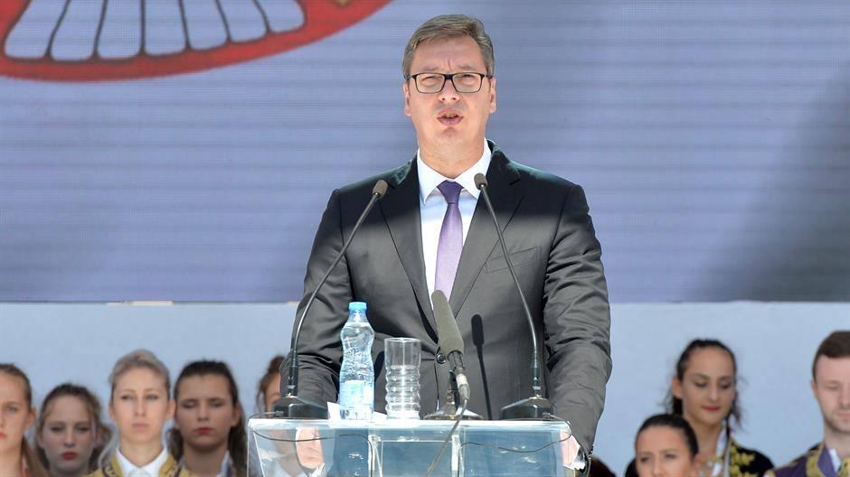 ალექსანდრ ვუჩიჩი - ინფორმაცია, რომ სერბეთი წლის ბოლომდე კოსოვოს დამოუკიდებლობის აღიარებას გეგმავს, ტყუილია