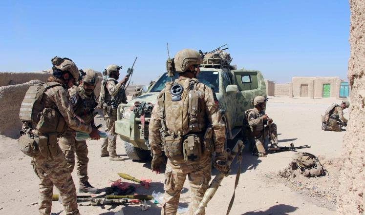 """ავღანეთის სპეცსამსახურებმა ტერორისტული ორგანიზაცია """"ჰაკანის ქსელის"""" 11 წევრი დააკავეს"""