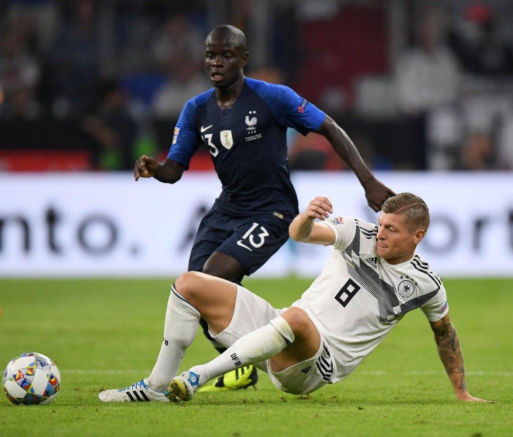 ერთა ლიგა - გერმანია-საფრანგეთი 0:0
