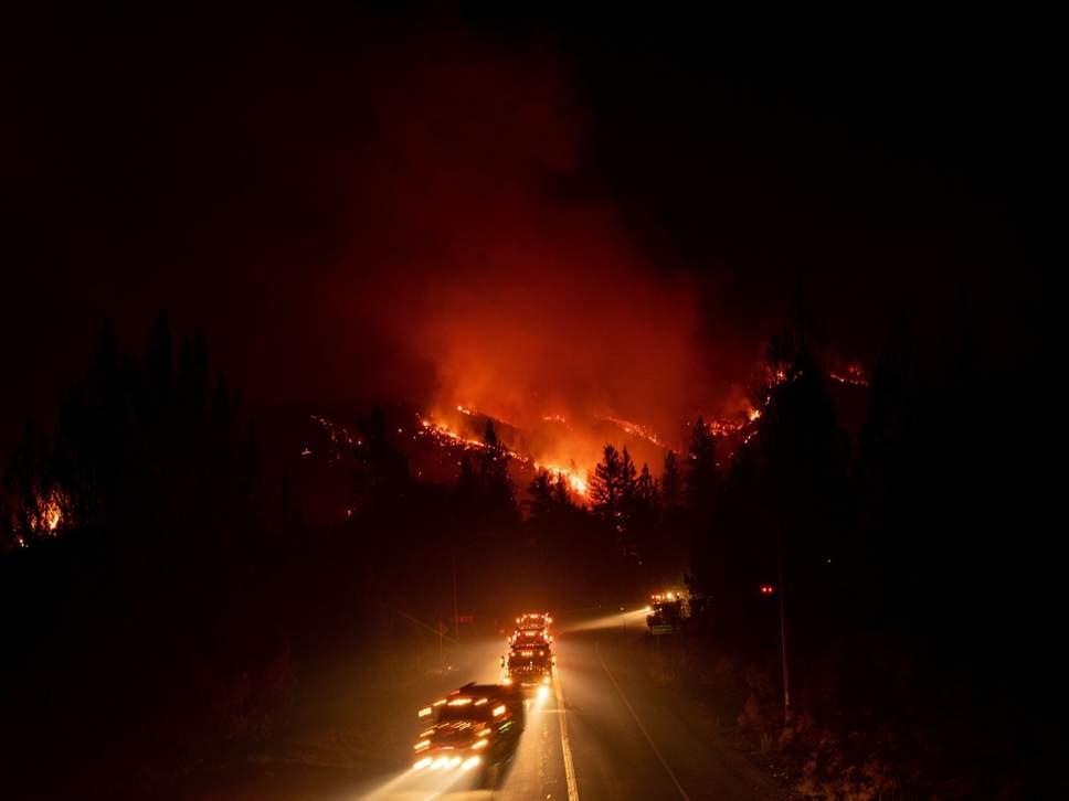კალიფორნიაში ხანძრის ჩაქრობას 600-ზე მეტი მეხანძრე ცდილობს