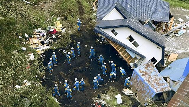 იაპონიაში მიწისძვრის შედეგად დაღუპულთა რიცხვი 42-მდე გაიზარდა