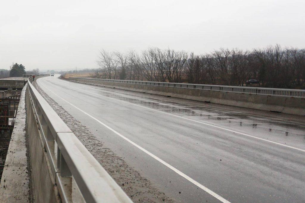 თბილისი-სენაკი-ლესელიძის საავტომობილო გზის 260-ე კილომეტრზე მოძრაობა შეიზღუდება