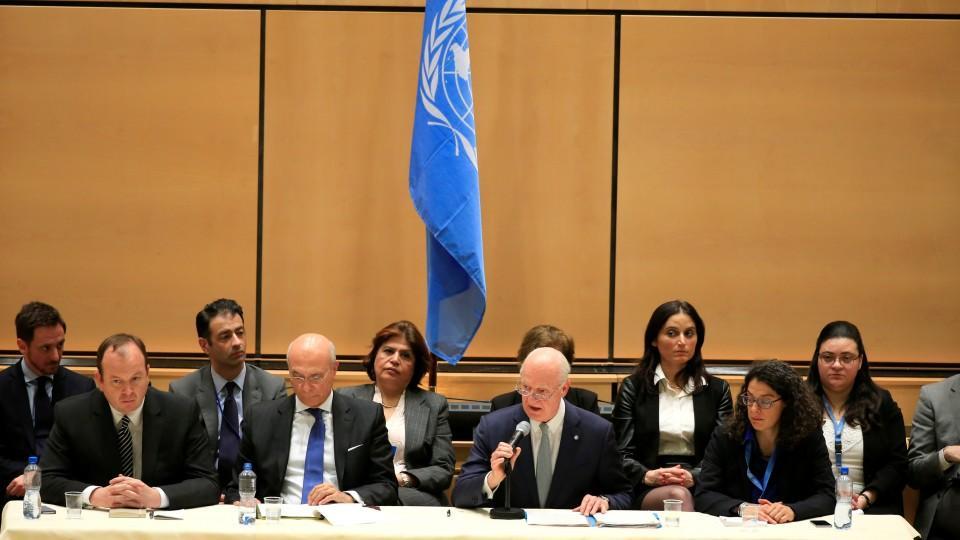 Российские, турецкие и иранские дипломаты обсудят вопрос создания конституционного комитета Сирии в Женеве