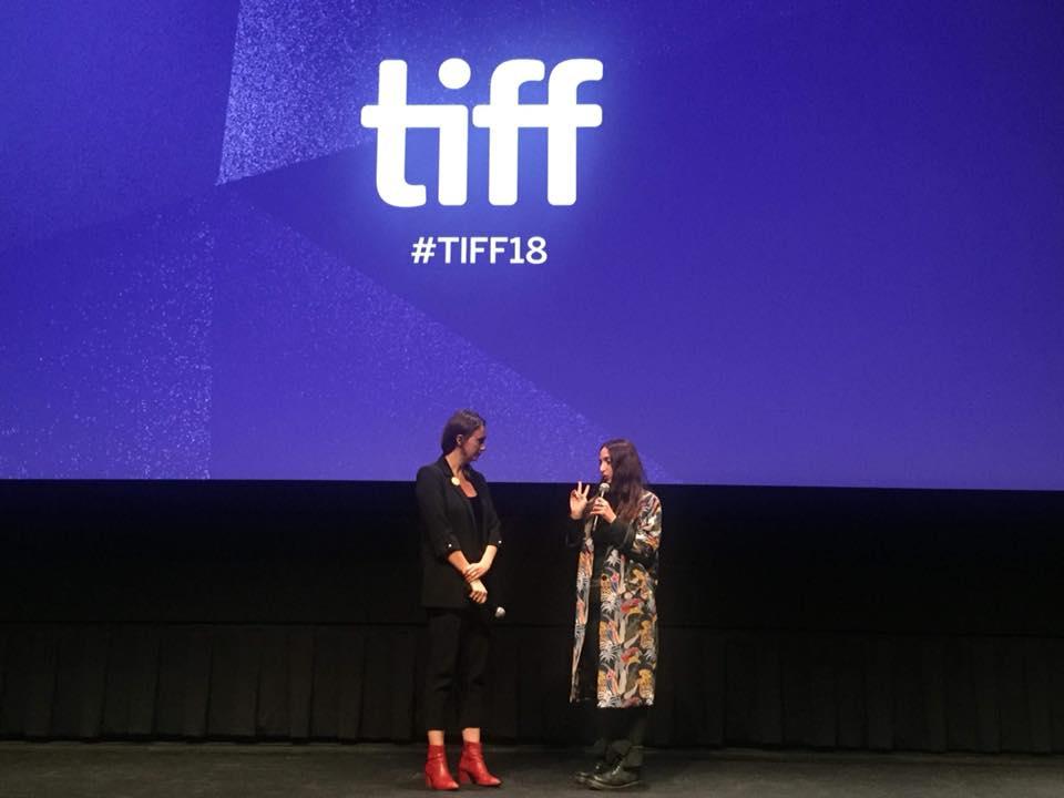 ტორონტოს საერთაშორისო კინოფესტივალზე ნინო ჟვანიას ახალი ფილმის მსოფლიო პრემიერა გაიმართა