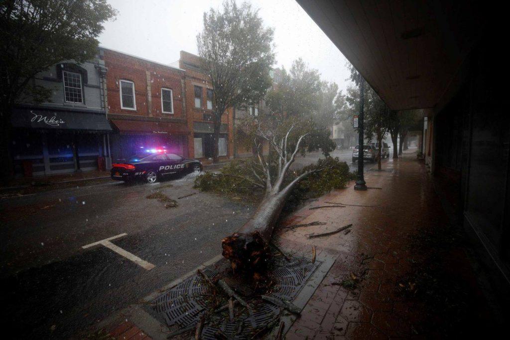 აშშ-ში ქარიშხალ ფლორენსის შედეგად დაღუპულთა რიცხვი შვიდამდე გაიზარდა [ფოტო]