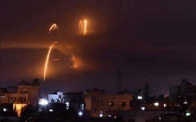 Սիրիայի օդային պաշտպանության համակարգը խոցել է Իսրաելի կողմից արձակված մի քանի հրթիռ