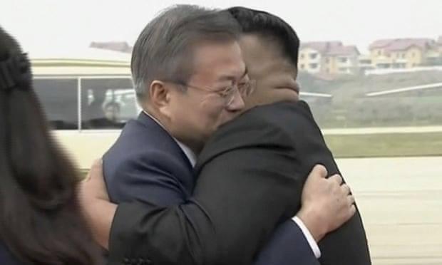 სამხრეთ კორეის პრეზიდენტი ფხენიანში ჩავიდა