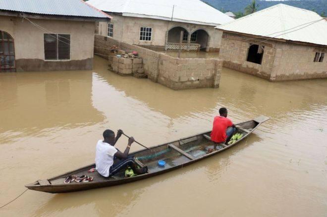 ნიგერიაში წყალდიდობას 100-ზე მეტი ადამიანი ემსხვერპლა