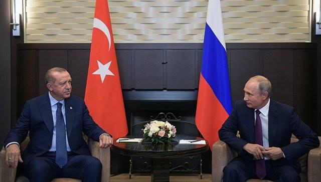 Սոչիում, Վլադիմիր Պուտինի նստավայրում սկսվել է Ռուսաստանի և Թուրքիայի նախագահների հանդիպումը