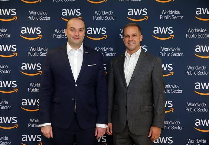 """პრემიერმა და """"ამაზონის"""" ხელმძღვანელმა პირებმა ციფრულ ტექნოლოგიებში საქართველოს მნიშვნელოვან პოტენციალზე ისაუბრეს"""