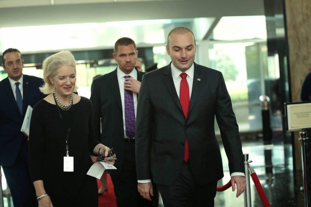 მამუკა ბახტაძე - ჩვენს საერთაშორისო პოლიტიკაში ორი მთავარი პრიორიტეტია - საქართველო აუცილებლად უნდა გახდეს ევროკავშირისა და ნატო-ს წევრი