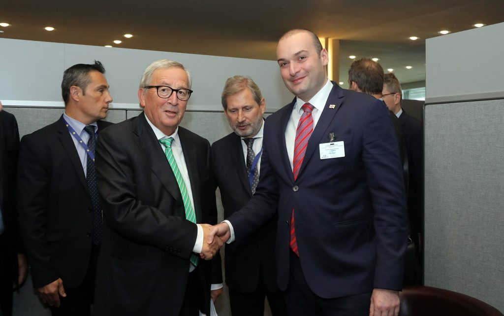 European Commission President welcomes Georgia's positive trends in visa liberalization