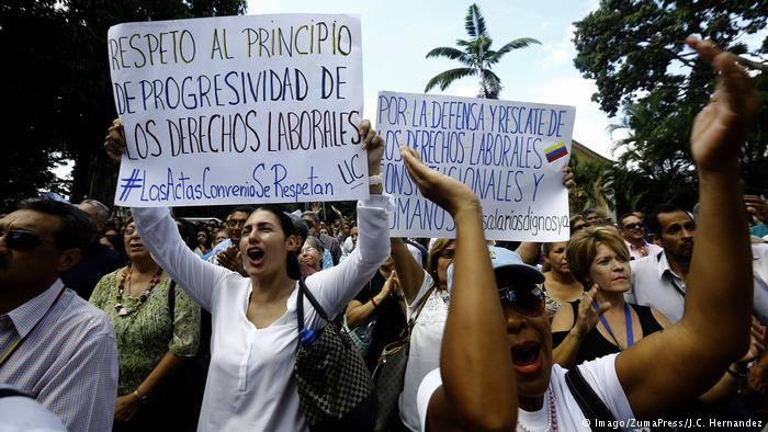 ნიკოლას მადუროს წინააღმდეგ ჰააგაში გამოძიების დაწყებას ექვსი ქვეყანა ითხოვს