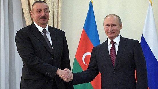 Владимир Путин прибыл в Азербайджан