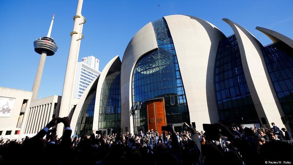 Թուրքիայի նախագահը Քյոլնում բացել է մզկիթ