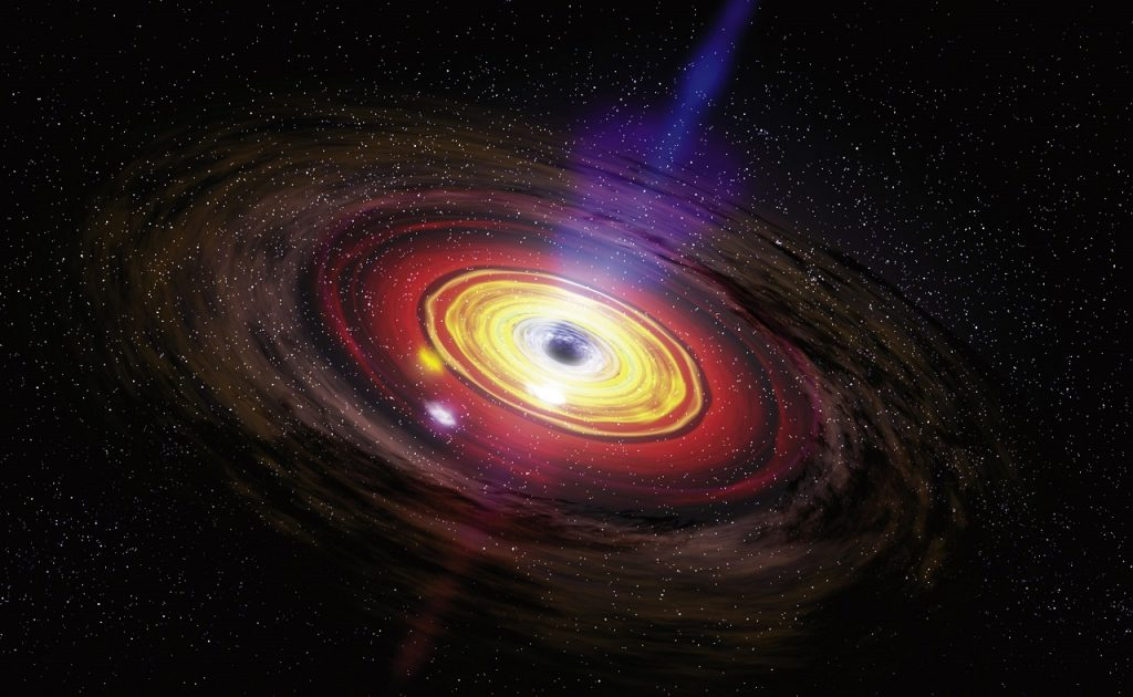 ასტრონომებმა გაარკვიეს, რომ შავ ხვრელში მატერია სინათლის სიჩქარის 30 პროცენტით ჩაედინება
