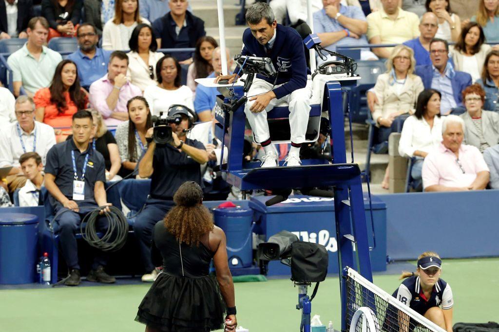 ჩოგბურთის მსაჯები სერენა უილიამსის თამაშების ბოიკოტირებას აპირებენ