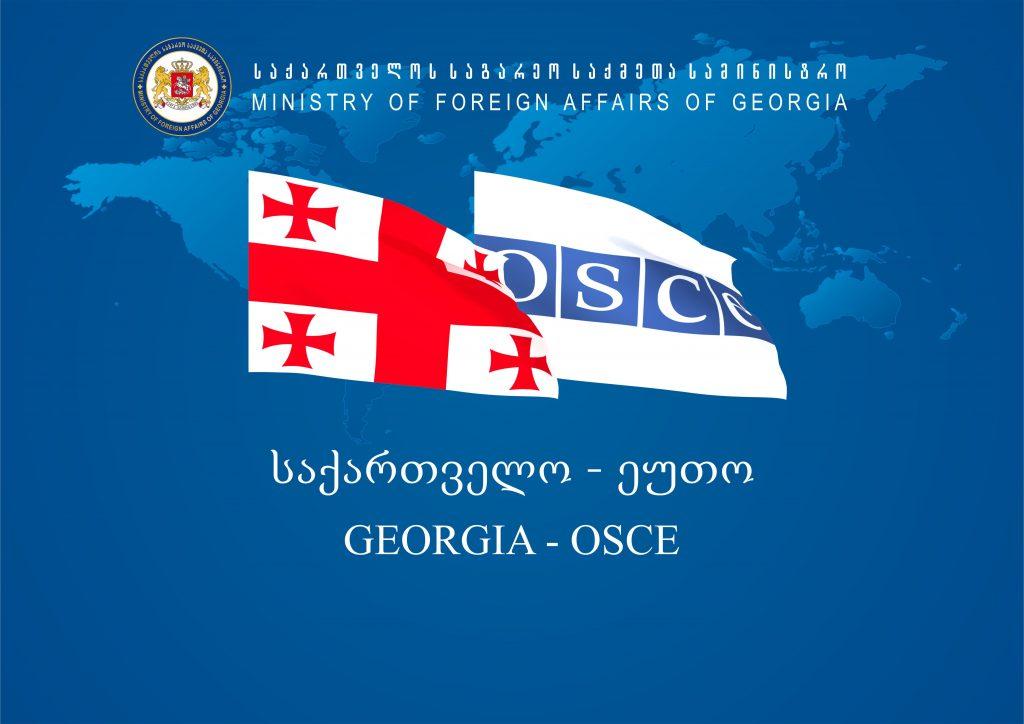 Грузию посетил генеральный секретарь ОБСЕ