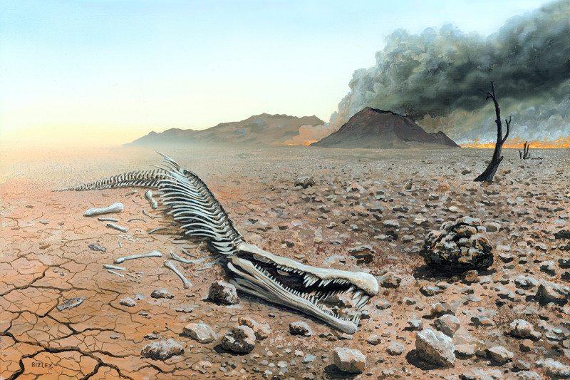 რატომ გადაშენდა დედამიწაზე სიცოცხლის 80 პროცენტი 250 მლნ წლის წინ