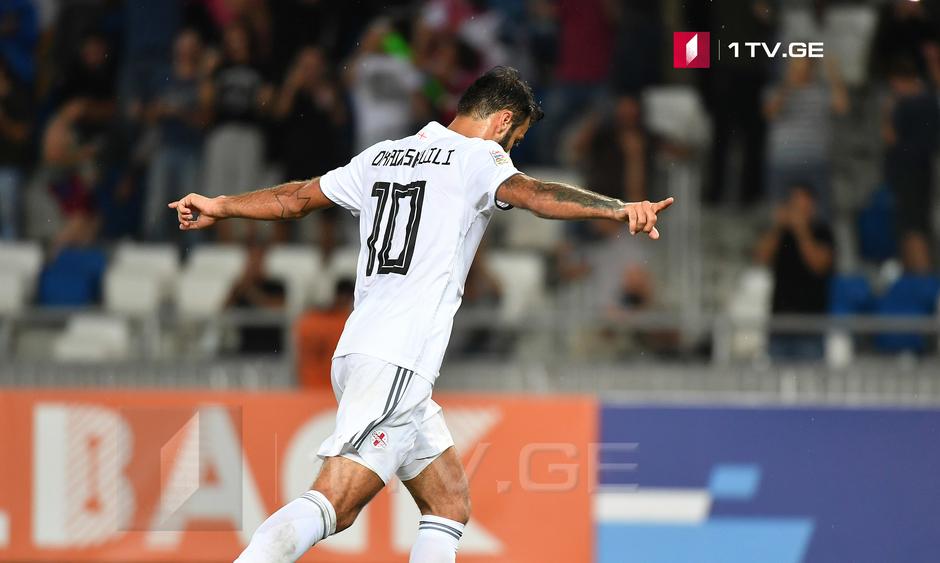 Вторая победа сборной Грузии | Лига наций